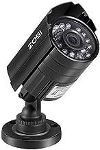 ZOSI 720P HD 1280TVL Hybrid 4-in-1 TVI/CVI/AHD/960H CVBS CCTV Camera Home Security Day/Night Camera Aluminum Metal Housing for HD-TVI, AHD, CVI, and CVBS/960H Analog DVR (Renewed)