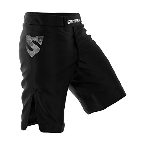 SMMASH REAPER Pantalones cortos de deporte para hombre para el entrenamiento de MMA, BJJ, UFC y gimnasio (S)