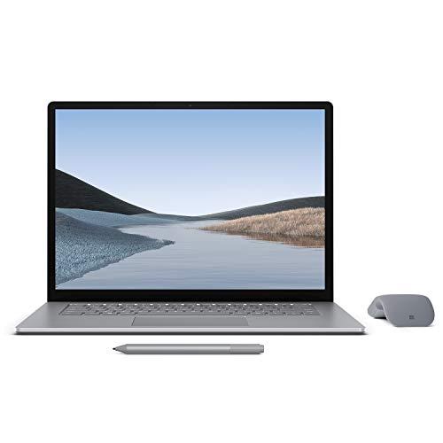 ※Windows 11 へ無料アップグレード可能【Microsoft ストア限定】3点セット: Surface Laptop 3 15インチ / AMD Ryzen 5 / 8GB / 256GB プラチナ + Surface アークマウス グレー + Surface ペン プラチナ RPJ-00002