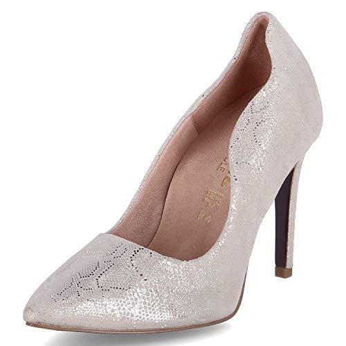 Tamaris Zapatos de tacón, color Dorado, talla 39 EU
