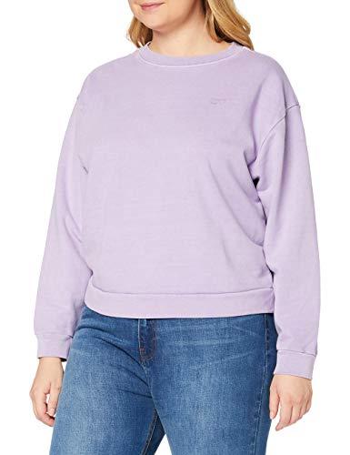 Levi's Plus Size Damen PL Diana Crew Sweatshirt, Tight Loops Garment Dye Lavender Frost, 1X
