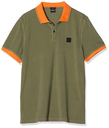 BOSS Herren Prim Poloshirt, Grün (Open Green 349), (Herstellergröße: XX-Large)