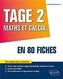 TAGE 2 - Maths et calcul en 80 fiches