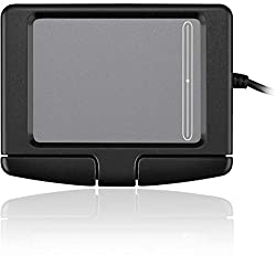 small Adesso GP-160UB – Simple cat touch panel with 2 buttons (black)