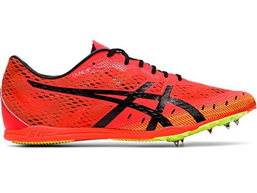 ASICS Unisex Gun Lap 2 Track & Field Shoes, 10W, Sunrise RED/Black