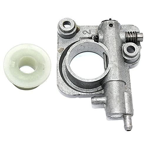 HaoYueDa Bomba de Aceite de Montaje de engrasador automático para Motosierra Shindaiwa 358Ts CS02200080 P021033920 V652000030