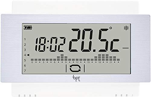 Bpt Th/500 Wh Cronotermostato Touch Parete