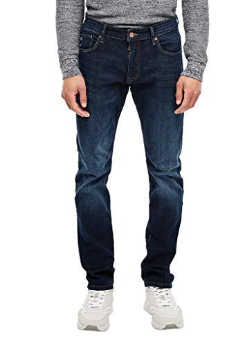 Q/S designed by - s.Oliver Herren Slim: Slim leg-Denim dark blue 34.30