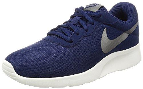 Nike Damen WMNS Tanjun SE Sneaker, Blau (Binary Blue/sail/metallic Pewter), 40.5 EU