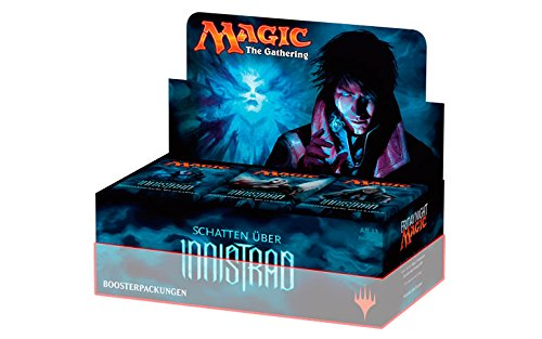 Magic the Gathering - Schatten über Innistrad Half-Display - 18 Booster in Originalsortierung - deutsch (DE)