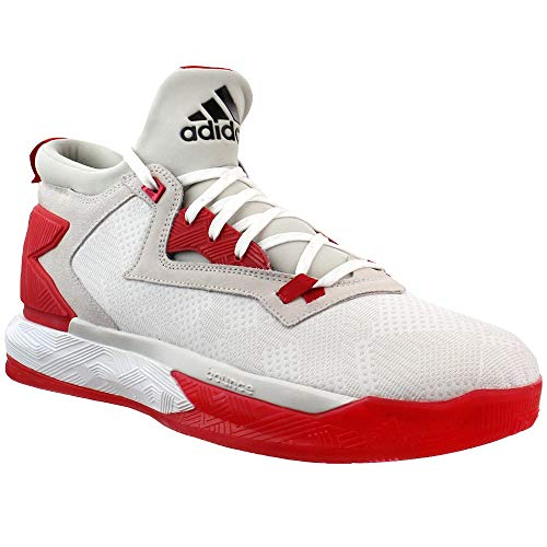 adidas Mens D Lillard 2 Basketball Sneakers Shoes Casual - White - Size 12.5 D