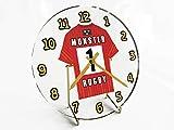 MyShirt123 Guinness Pro 12–Maillot de Rugby à XV Bureau horloges–n'importe Quel nom, n'importe Quel Nombre, n'importe Quel Team–Personnalisation Offerte, Femme, Munster Rugby