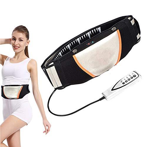 Gootop elektrisches Bauchmassageband, beheizt, Schlankheitsgürtel, vibrierend, Elektrostimulation der Muskulatur und Gewichtsverlust, geeignet für Bauch, Gesäß, Taille, Oberschenkel, Rücken