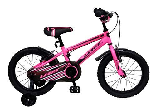 Ümit Bicicleta 16' XT16, Juventud Unisex, Rosa, Mediano