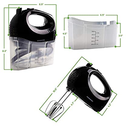 Ovente-HM151B-Handmixer-Kunststoff-Schwarz