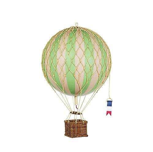 Authentic Models - Dekoballon - Jules Verne - Ballon Grün - 18 cm Durchmesser