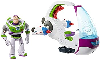 Disney and Pixar Galaxy Explorer Spacecraft & Buzz Lightyear Figure