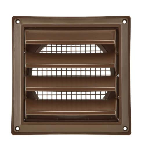 "BROAN-NUTONE 604B 4"" Air Intake Vent, Brown"