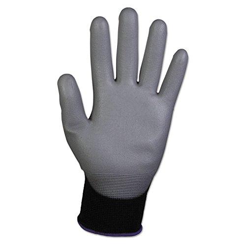 Kimberly Clark 38728 Jackson Safety G40 Polyurethanbeschichtete Handschuhe, Handspezifische Paare, Grau/Schwarz (60-er pack)