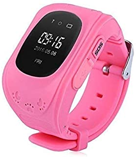 Opill Smart Watch Q50 Bluetooth Smartwatch Compatible with All Mobile Phones for Boys and Girls (Pink)