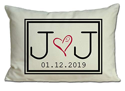 Personalized Pillow Two hearts 2 Hearts are one