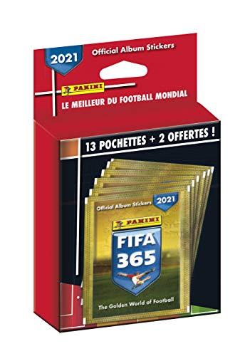 Panini France SA-Panini FIFA 365-2021 13 Taschen + 2 Gratis, 003949KBF15