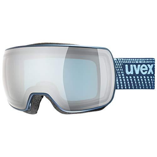 uvex Unisex– Erwachsene, compact FM Skibrille, navy mat, one size