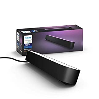 Philips Hue Play White and Colour Ambiance Smart Light Bar Extension, Entertainment Lighting for TV and Gaming (Works with Alexa, Google Assistant and Apple HomeKit), Black (B07FYDGD73) | Amazon price tracker / tracking, Amazon price history charts, Amazon price watches, Amazon price drop alerts