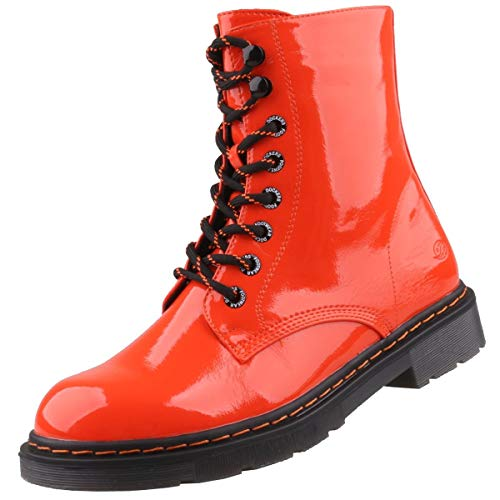 Dockers by Gerli Damen Hampton Mode-Stiefel, orange, 40 EU