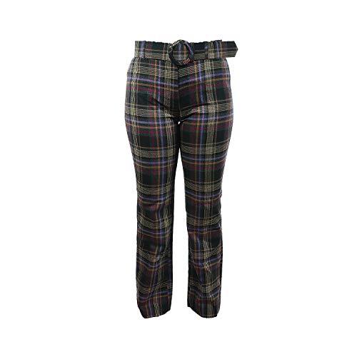 Kontatto Damen Pantalone Coulisse Ciniglia Donna M1051 (Nero Black, S)