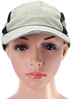 TT WARE Outdooors Running Hat Camping Sweat Absorbent Quick Dry At Night-Khaki