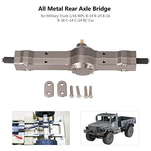 Goolsky All Metal Hinterachsenbrücke für Military Truck 1/16 WPL B-14 B-24 B-16 B-36 C-14 C-24 RC Auto
