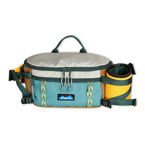KAVU Washtucna Belt Bag Fanny Pack with Detachable Beverage Cooler-Sun Ridge