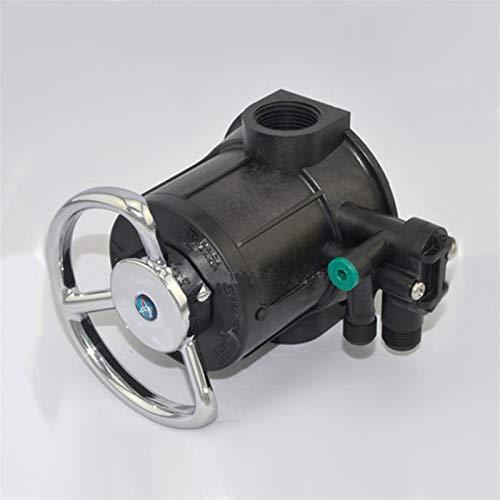 NIANZAI Hongfubang vástago de válvula 1'Válvula de Filtro de Carbono activada por contrapeso de 1' ABS/PPO válvula de Control de Puerto múltiple para ablandador de Agua 4 toneladas F64A