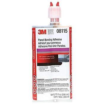 3M TM  Panel Bonding Adhesive 08115 200 mL Cartridge 6 per case