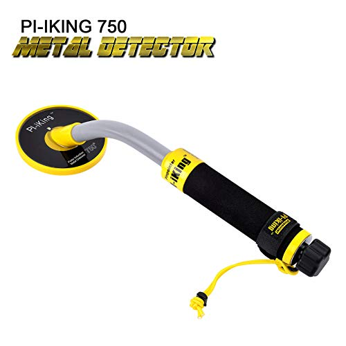 SHUOGOU 750 Underwater Metal Detector with Vibration and LCD Detection Indicator - PI Waterproof Probe Pulse Induction...