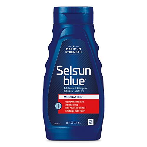 Selsun Blue Medicated Maximum Strength Schuppen-Shampoo, 11 oz