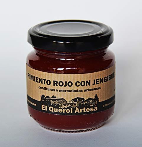 Mermelada Artesana de PIMIENTO ROJO CON JENGIBRE. 170gr. Ing