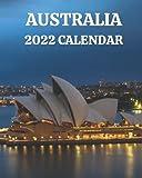 Australia Calendar 2022: Monthly 2022 Calendar Book with Pictures of Australian Cities