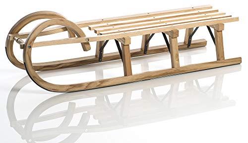 Sirch Hörnerrodel Esche Standard Plus mit Lattensitz, Variante:115 cm