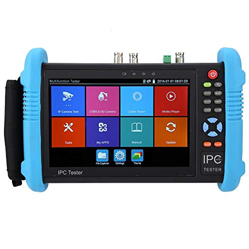 Probador CCTV Tester Pantalla Táctil IPS 7'' H.265