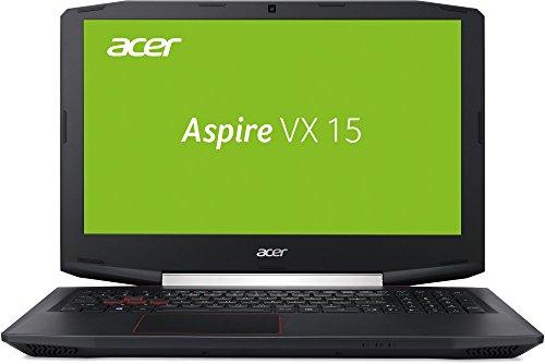 Acer Aspire VX 15 (VX5-591G-51XS) 39,62 cm (15,6 Zoll) Full HD IPS (Intel Core i5-7300HQ, 16 GB RAM, 512 GB PCIe SSD, NVIDIA GeForce GTX 1050Ti (4 GB GDDR5 VRAM), Win 10 Home) schwarz