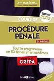Cours de procédure pénale - Tout le programme en 50 fiches