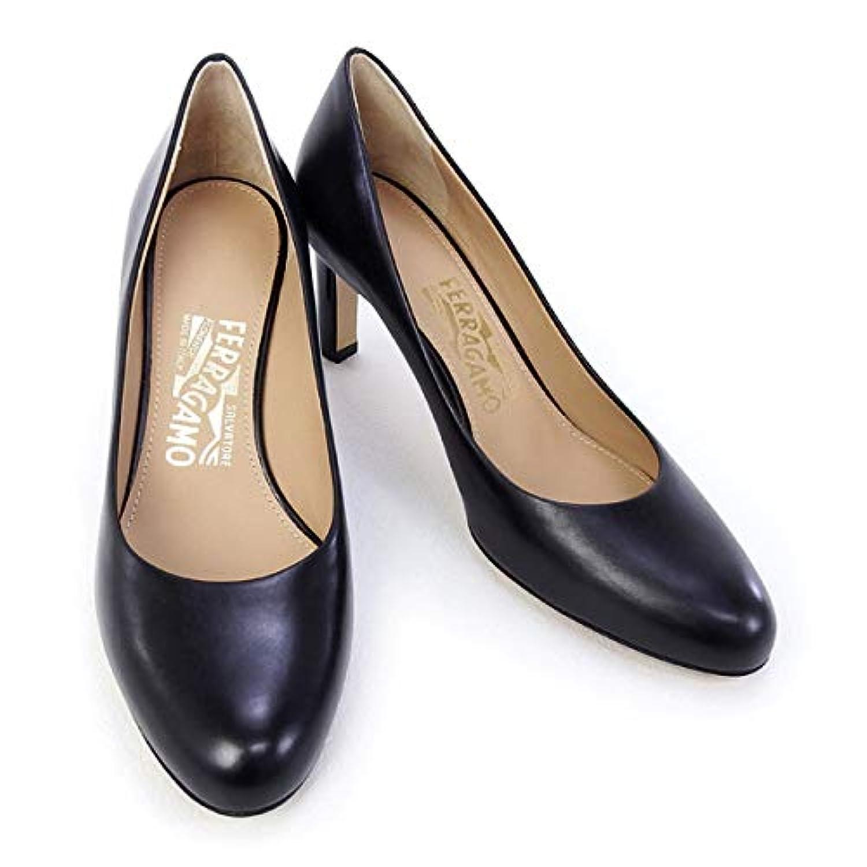 [サルヴァトーレ フェラガモ] 靴 レディース パンプス ブラック (LEO 70C 0619654 NERO) [並行輸入品]