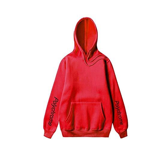 Sweatshirt Special Travel Damen Herren Hoodie Mode Coole Version des Street Pull Herren Sweatshirt Hip Hop Kodak Hoodie Herren M