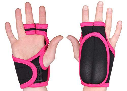 Merco Handschuhe für Piloxing 2x0,25 kg (Schwarz/Rosa)