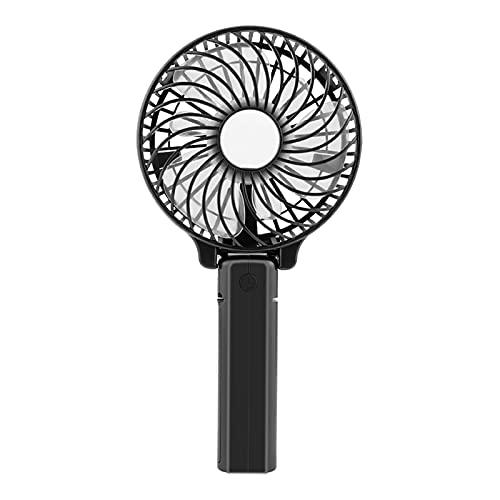 Fan Portátil Portátil De Mano, Mini Ventilador Personal para Viajes A Domicilio Y Uso De Oficina