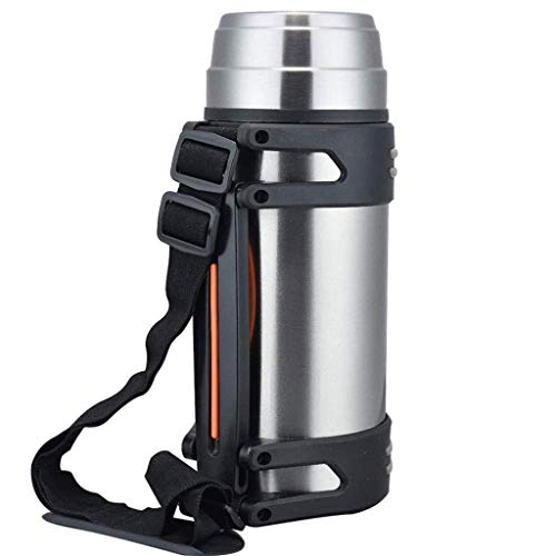 SLM-max Portable water cup,Food Flask, Insulated Stainless Steel Cup, Titanium, 1200 ml Travel Bottle Large Capacity Insulation Pot Car Travel Bottle