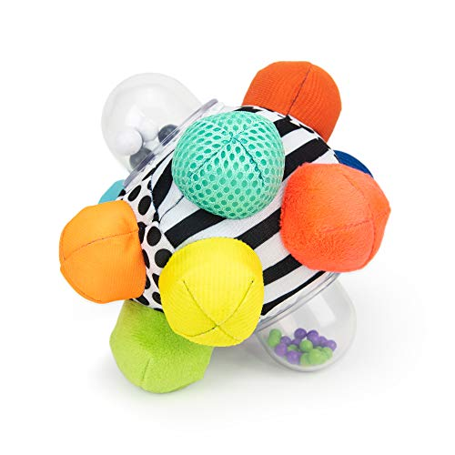 Sassy Developmental Bumpy Ball | Easy to Grasp Bumps Help Develop Motor Skills | for Ages 6 Months...