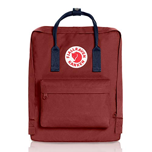 Fjallraven, Kanken Classic Backpack for Everyday, Ox Red/Royal Blue